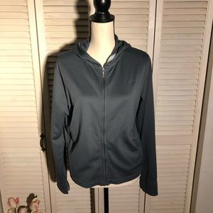 Grey Nike Athletic Jacket Size Large